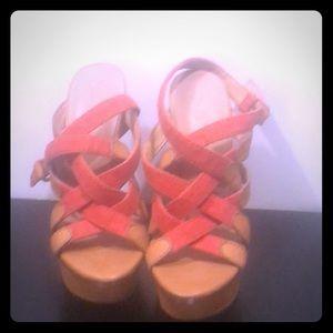 L.A.M.B Strappy Heels